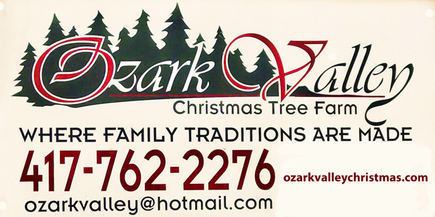 Ozark Valley Christmas Tree Farm Logo